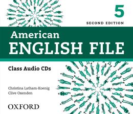 AMERICAN ENGLISH FILE 2E 5 CLASS AUDIO CDS (4)