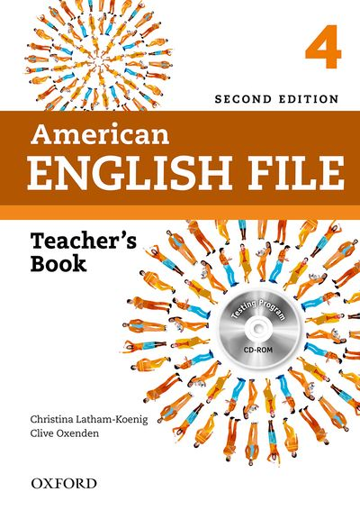 AMERICAN ENGLISH FILE 2ND ED. 4 TEACHERS BOOK PACK