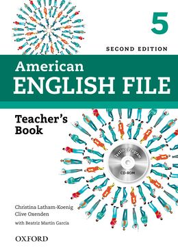 AMERICAN ENGLISH FILE 2E 5 TEACHER'S BOOK WITH TEST AND ASSESSMENT CD-ROM