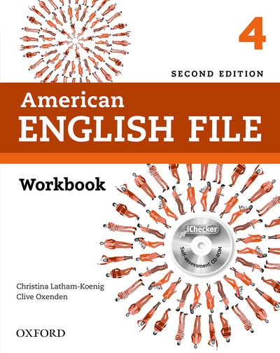AMERICAN ENGLISH FILE 2ND ED. 4 WORKBOOK WITH ICHECKER