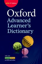OXFORD ADVANCED LEARNER'S DICTIONARY 9TH EDITION & DVD-ROM