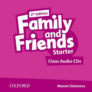 FAMILY & FRIENDS STARTER (2ND EDITION) CLASS AUDIO CD (2)