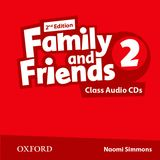 FAMILY & FRIENDS 2 (2ND EDITION) CLASS AUDIO CD (2)