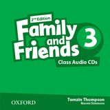 FAMILY & FRIENDS 3 (2ND EDITION) CLASS AUDIO CD (2)