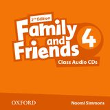 FAMILY & FRIENDS 4 (2ND EDITION) CLASS AUDIO CD (2)