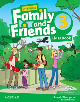 FAMILY & FRIENDS 3 (2ND EDITION) CLASS BOOK PACK