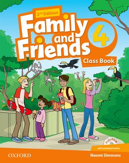 FAMILY & FRIENDS 4 (2ND EDITION) CLASS BOOK PACK