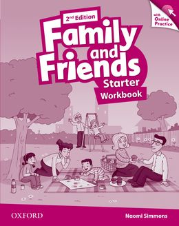 FAMILY & FRIENDS STARTER (2ND EDITION) WORKBOOK & ONLINE PRACTICE PACK