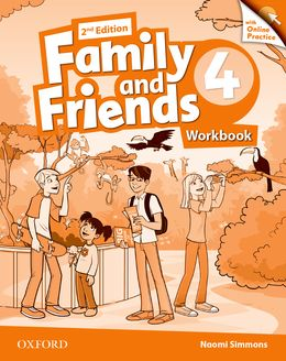 FAMILY & FRIENDS 4 (2ND EDITION) WORKBOOK & ONLINE PRACTICE PACK