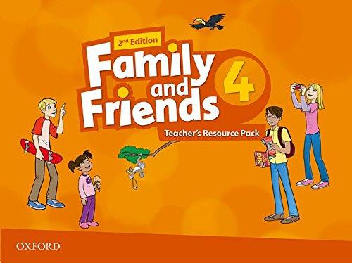 FAMILY & FRIENDS 4 (2ND EDITION) TEACHER'S RESOURCE PACK