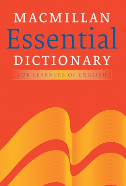 MACMILLAN ESSENTIAL DICTIONARY WITH CD-ROM