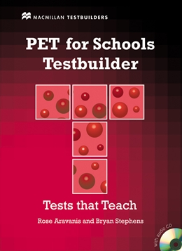 PET FOR SCHOOLS TESTBUILDER STUDENT'S BOOK & CD PACK