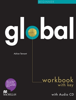 GLOBAL BEGINNER WORKBOOK & CD WITH KEY