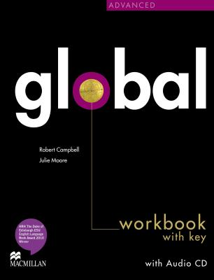 GLOBAL ADVANCED WORKBOOK & CD WITH KEY