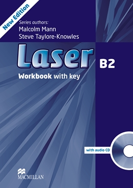 LASER 3RD EDITION B2 WORKBOOK WITH KEY & CD PACK