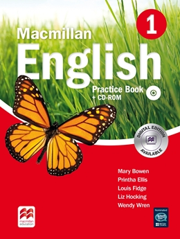MACMILLAN ENGLISH 1 PRACTICE BOOK  +  CD ROM PACK