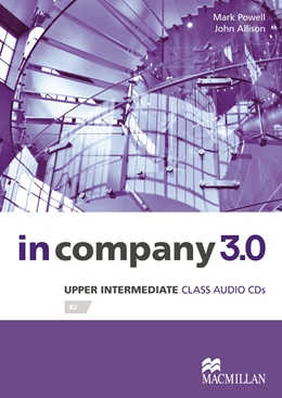 IN COMPANY 3.0 UPPER-INTERMEDIATE CLASS AUDIO CD