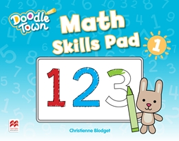 DOODLE TOWN LEVEL 1 MATH SKILLS PAD