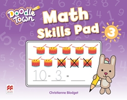 DOODLE TOWN LEVEL 3 MATH SKILLS PAD