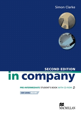 IN COMPANY 2ND EDITION PRE-INTERMEDIATE STUDENT'S BOOK  +  CD ROM