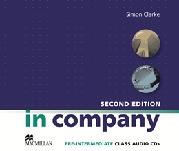 IN COMPANY 2ND EDITION PRE-INTERMEDIATE CLASS AUDIO CD (2)
