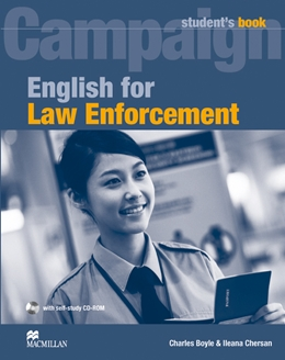 ENGLISH FOR LAW ENFORCEMENT STUDENT'S BOOK  +  CD ROM