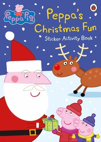 PEPPA'S CHRISTMAS FUN STICKER ACTIVITY BOOK