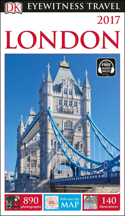 DK EYEWITNESS TRAVEL GUIDE LONDON 2017