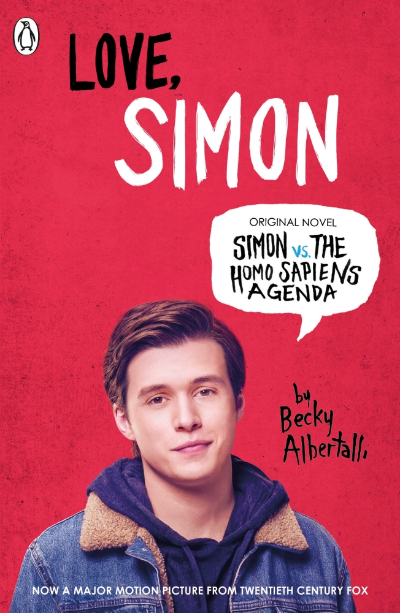 LOVE SIMON : SIMON VS THE HOMO SAPIENS AGENDA OFFICIAL FILM TIE-IN