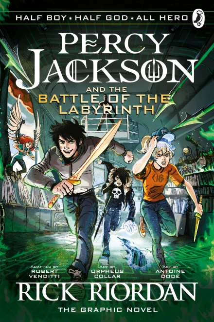 THE BATTLE OF THE LABYRINTH: THE GRAPHIC NOVEL (BOOK 4)