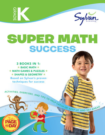 KINDERGARTEN SUPER MATH SUCCESS