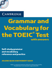 CAMBRIDGE GRAMMAR AND VOCABULARY FOR THE TOEIC TEST WITH ANSWERS + CDS (2)