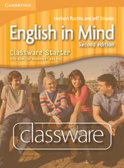 ENGLISH IN MIND 2ND EDITION STARTER CLASSWARE DVD-ROM