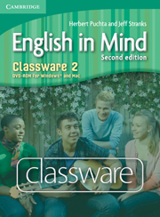 ENGLISH IN MIND 2 CLASSWARE DVD-ROM (2ND EDITION)