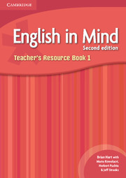 ENGLISH IN MIND 1 2ND EDITION TEACHER'S RESOURCE BOOK