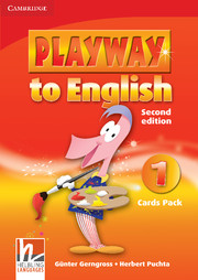 PLAYWAY TO ENGLISH 1 (2ND EDITION) CARDS PACK