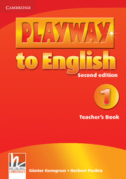 PLAYWAY TO ENGLISH 1 (2ND EDITION) TEACHER'S BOOK