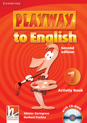 PLAYWAY TO ENGLISH 1 (2ND EDITION) ACTIVITY BOOK & CD-ROM