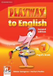 PLAYWAY TO ENGLISH 1 (2ND EDITION) PUPIL'S BOOK