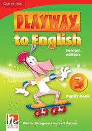 PLAYWAY TO ENGLISH 3 (2ND EDITION) PUPIL'S BOOK
