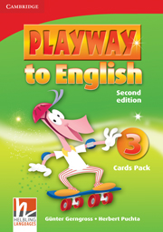 PLAYWAY TO ENGLISH 3 (2ND EDITION) CARDS PACK