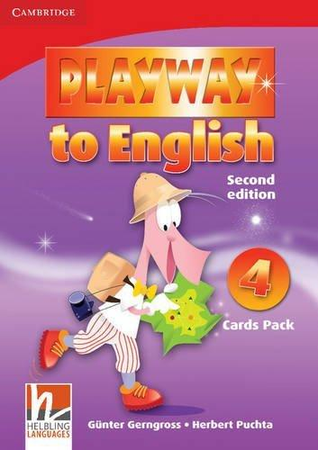 PLAYWAY TO ENGLISH 4 (2ND EDITION) CARDS PACK