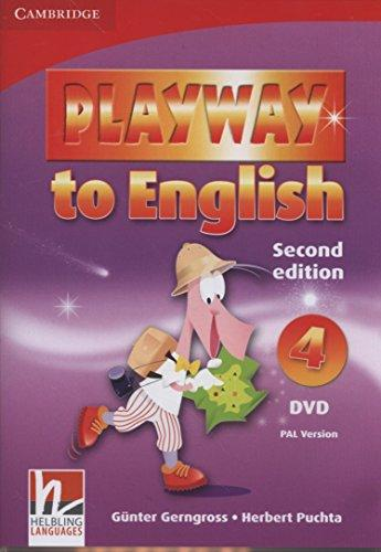 PLAYWAY TO ENGLISH 4 (2ND EDITION) DVD