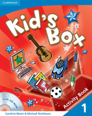 KID'S BOX 1 ACTIVITY BOOK WITH CD-ROM