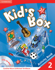 KID'S BOX 2 ACTIVITY BOOK WITH CD-ROM
