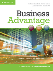 BUSINESS ADVANTAGE UPPER-INTERMEDIATE CLASS AUDIO CDS (2)