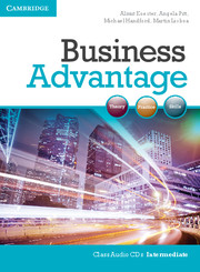 BUSINESS ADVANTAGE INTERMEDIATE AUDIO CDS (2)