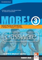 MORE! 3 CLASSWARE DVD-ROM