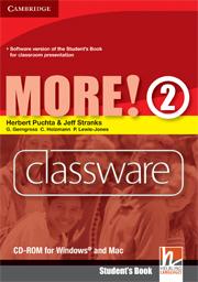 MORE! 2 CLASSWARE DVD-ROM