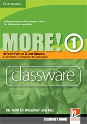 MORE! 1 CLASSWARE DVD-ROM